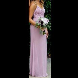David's Bridal Bridesmaid's Dress - Quartz